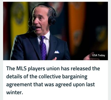 Mls Players Union Releases Cba Gofootyourself
