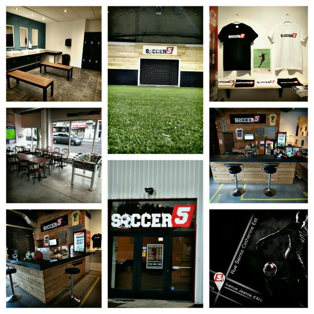 Soccer 5 montr al terrain de soccer int rieur for Go kart interieur montreal
